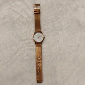 Rose Gold Eddie Borgo Watch